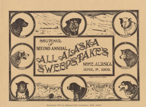 Souvenir vom All Alaska Sweepstakes 1909